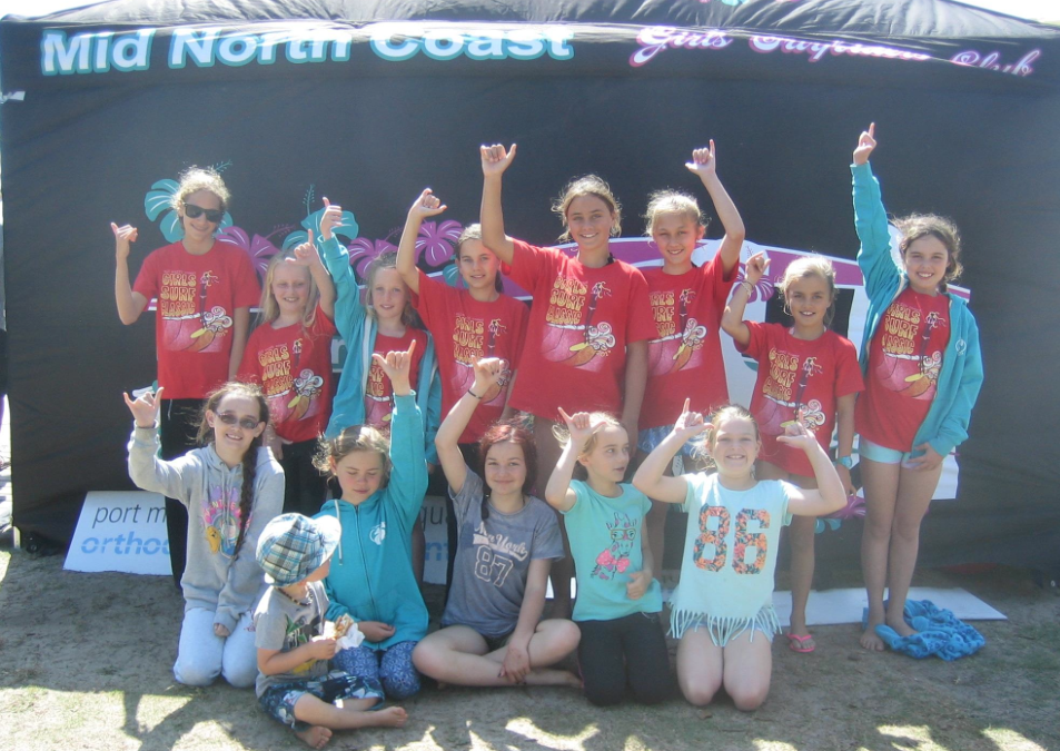 Mid North Coast Girls Surf Classic 2014 Photo Reg McGuigan