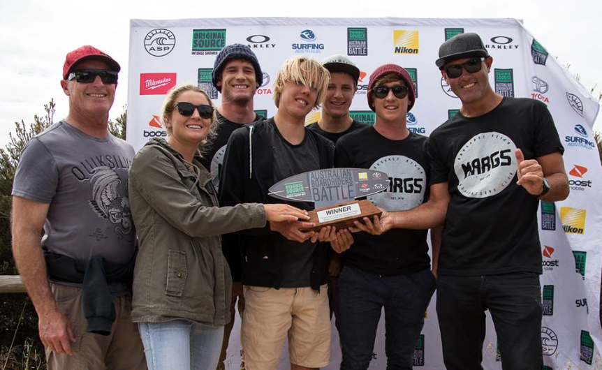 Margaret River Boardriders Club Wins WA's Boardriders Battle Photo: Nick Woolacott