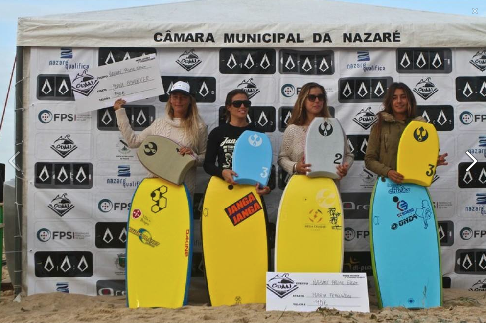 Nazaré womens finalists