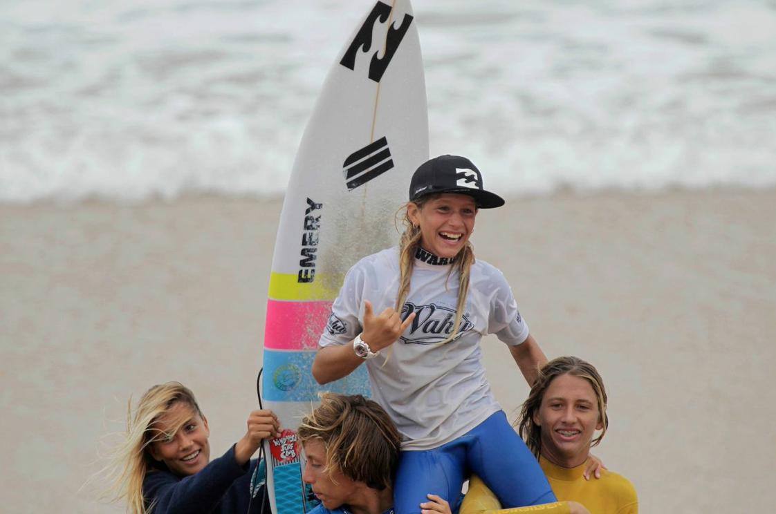 Zahli Kelly  Photo: Surfing QLD