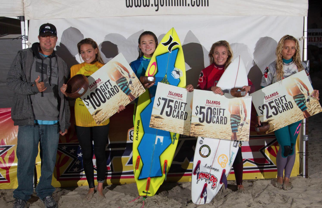 Surfing America Salt Creek Prime Under 18s Finalists Photo: Surfing America