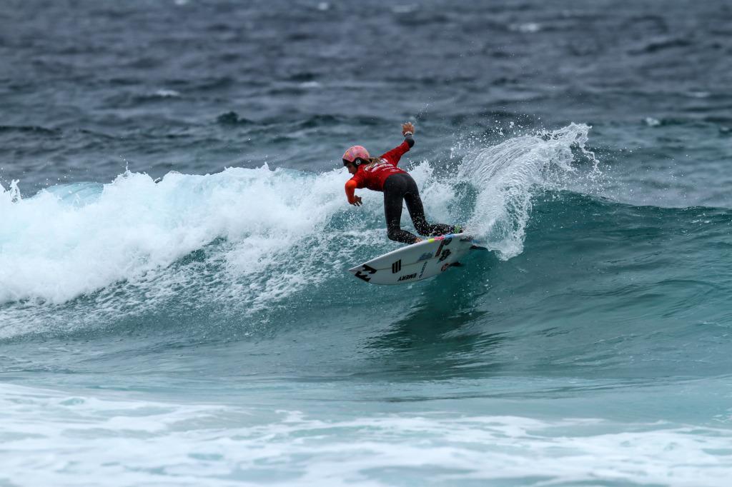 Zahli Kelly Photo by Nick Woolacott / Surfing WA