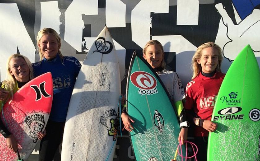 NSSA South West Ventura Open Girls finalists
