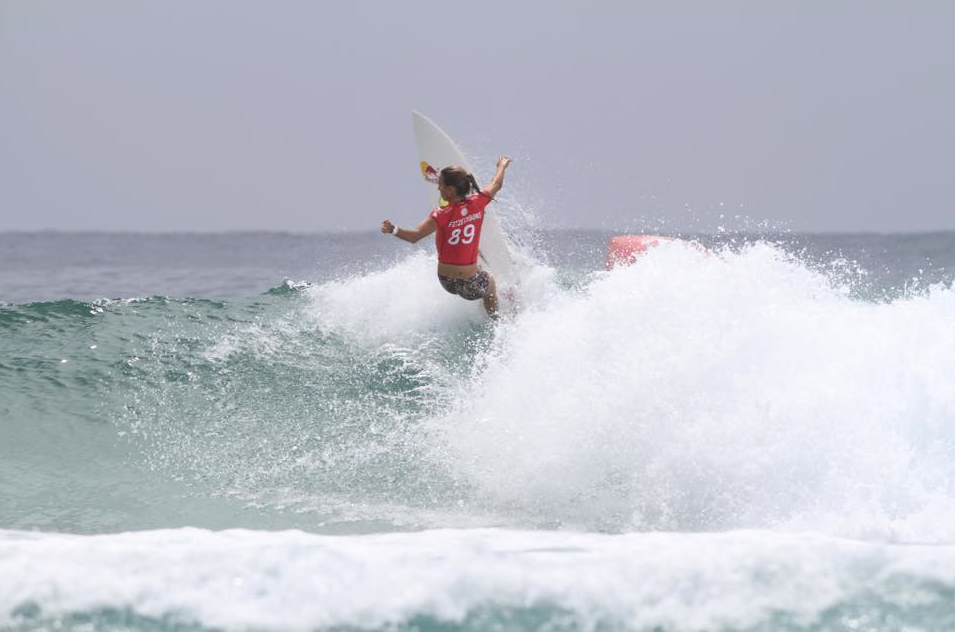 Sally Fitzgibbons Roxy Pro 2015 photo by Matt Jones