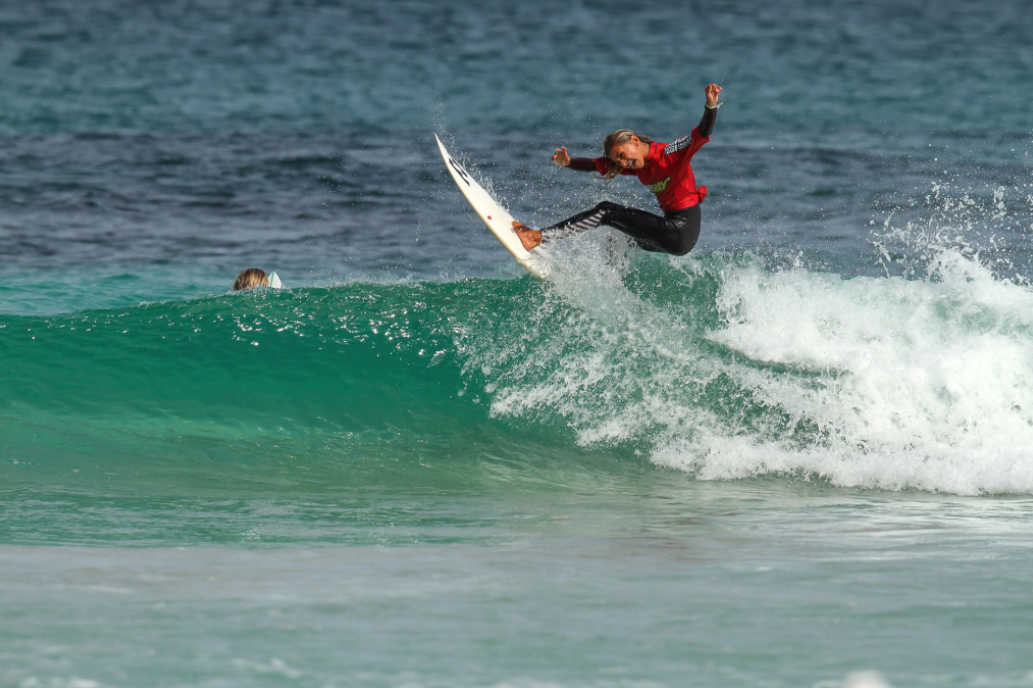 Mia McCarthy 2015 photo by Nick Woolacott / Surfing WA