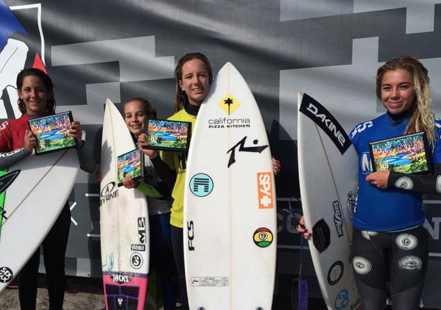 NSSA Open Oceanside Open Women's Finalists by NSSA