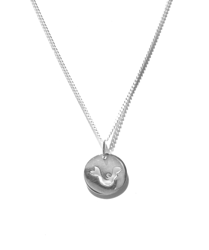 Stirling Silver Mermaid Necklace