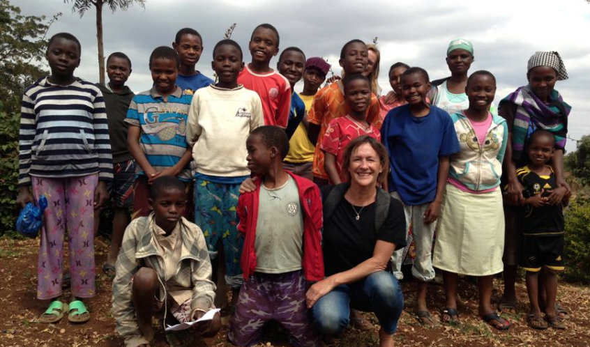 Anne visits the Choclo Project in Africa