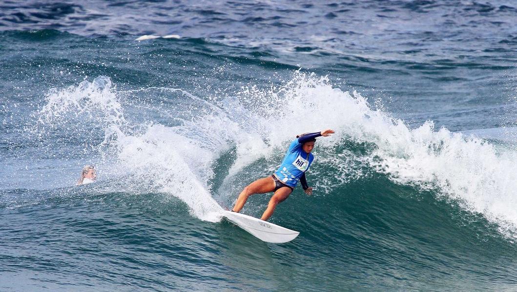 Vittoria Farmer photo by Surfing Queensland