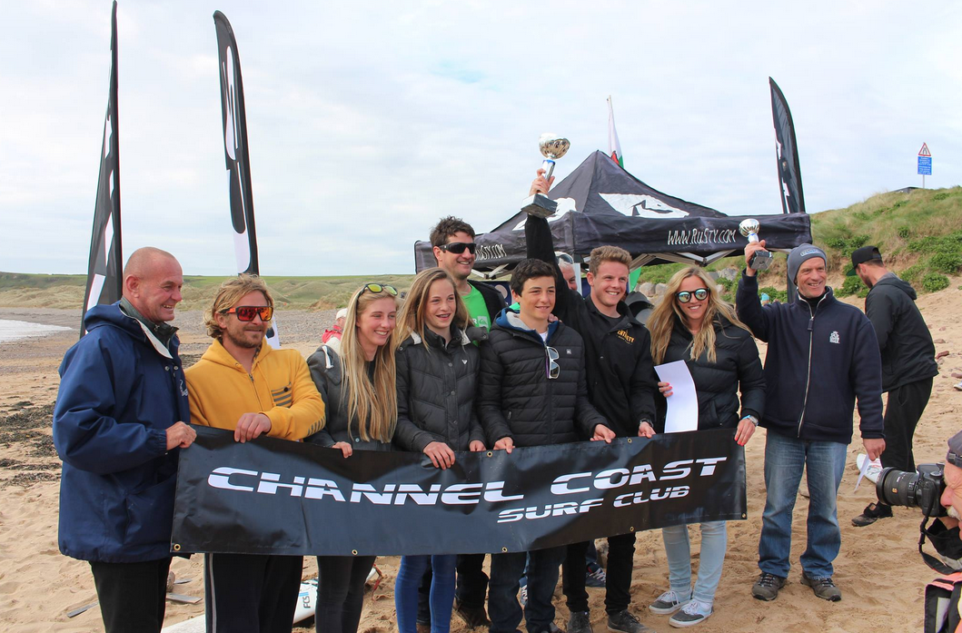 Channel Coast Surf Club take the win