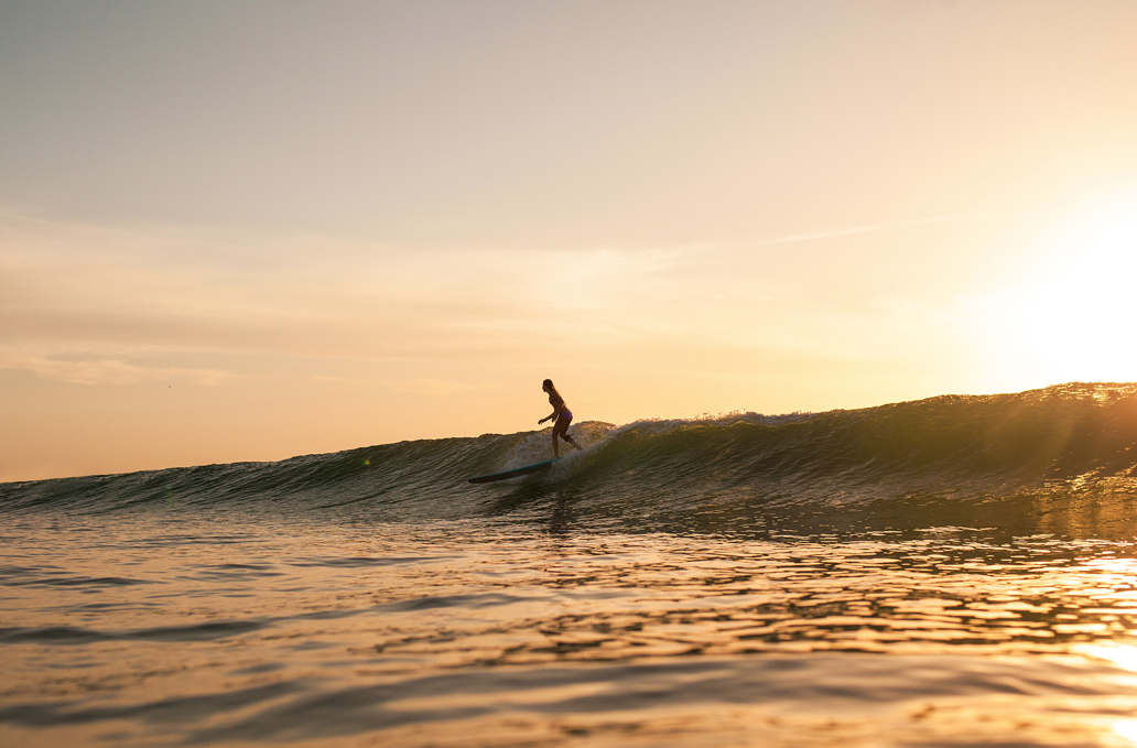 Sienna Coulter for Hoku Surfboards by Mikala Wilbow