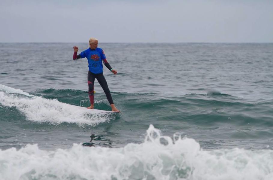 Mason Shcremmer longboarding photo by  Patty Schremmer