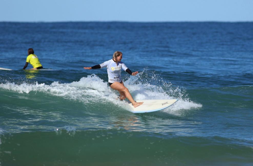 Lara Murphy photo by Surfing NSW
