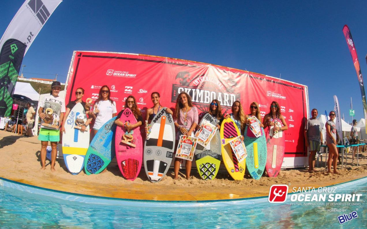 Santa Cruz Ocean Spirit 2015 Women's Skimboard Finals