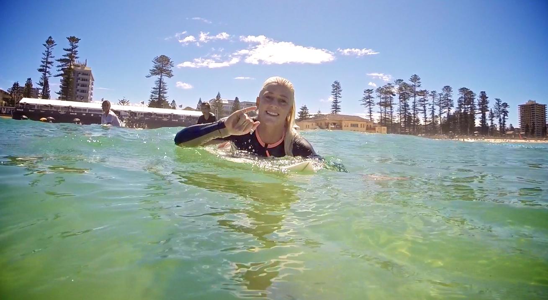 2015 Hurley Australian Open of Surfing / Tatiana Weston-Webb photo by The Mermaid Society
