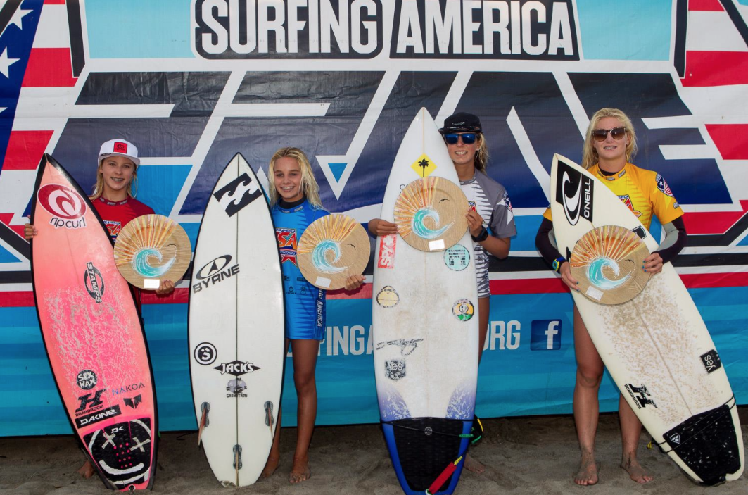 under 16s finalists photo by Surfing America