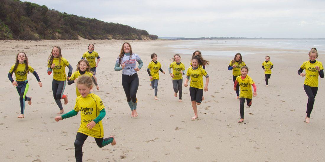 Surfing For Girls Surfing Victoria