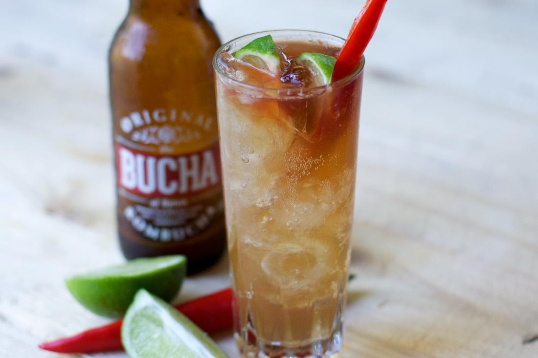 The Bucha Of Byron Original Kombucha