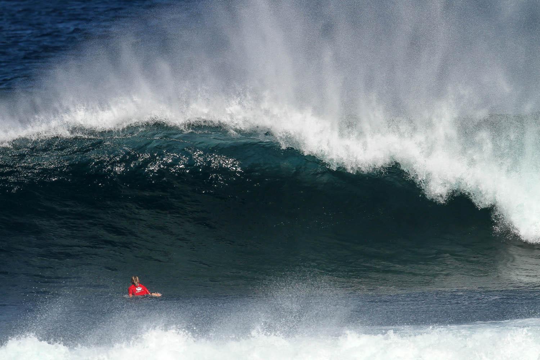 Surfing Western Australia photo by Woolacott