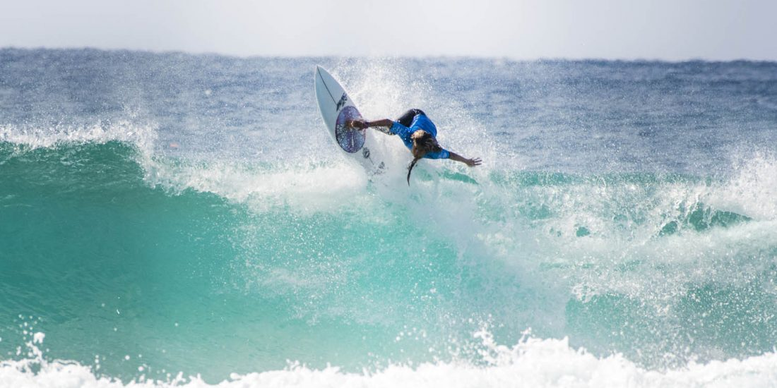 Anne Dos Santos at the Hydralyte Sports Pro Junior Gold Coast