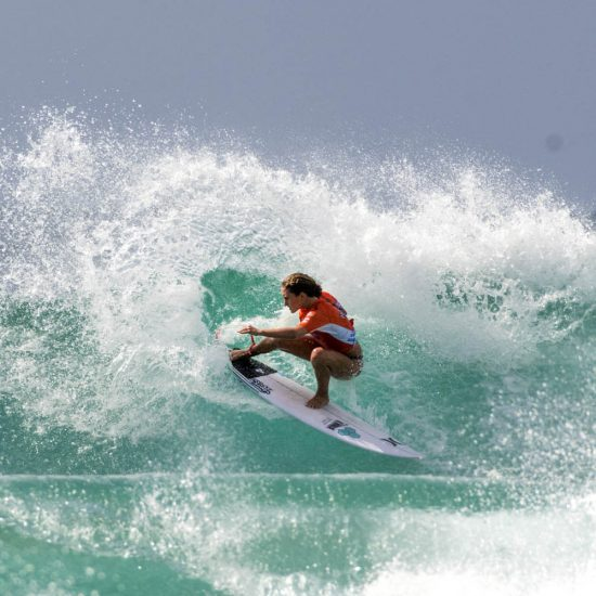 Bodhi Leigh-Jones at the Hydralyte Sports Pro Junior Gold Coast