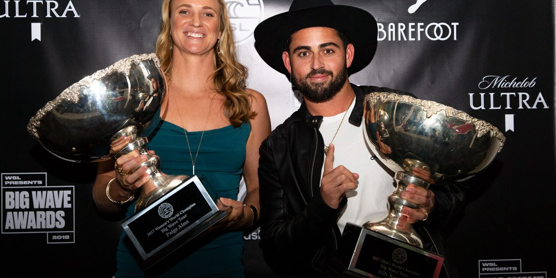 Paige Alms Big Wave Awards 2018 photo by WSL/vankirk