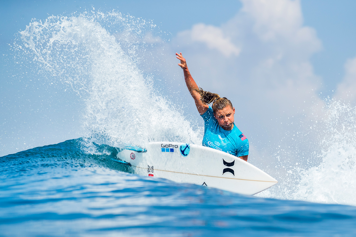 Lakey Peterson Corona Bali Pro photo by WSL/Cestari