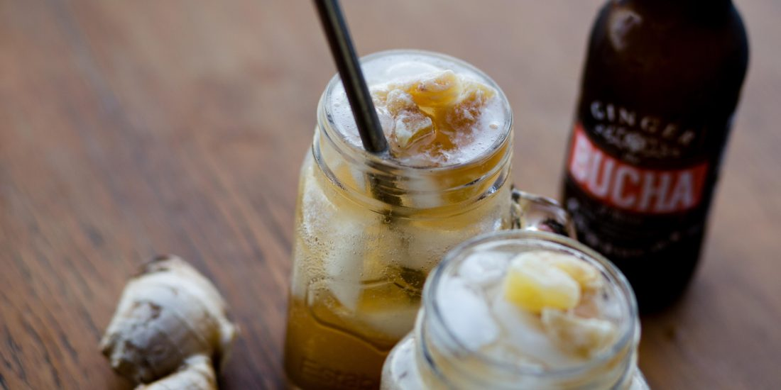 The Bucha Of Byron Ginger Cocktail Recipe